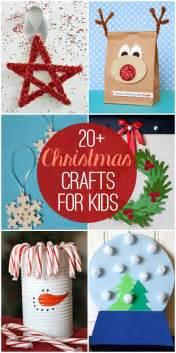 20 christmas crafts for kids so many cute and fun craft