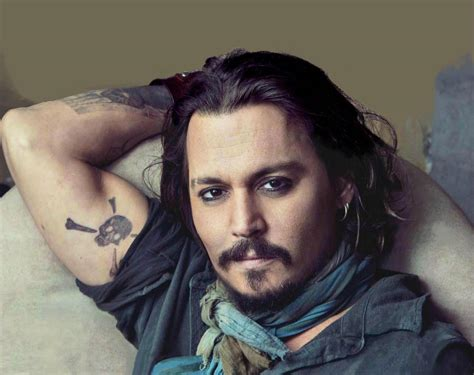 skull tattoo johnny depp men tattoo designs johnny depp tattoomagz