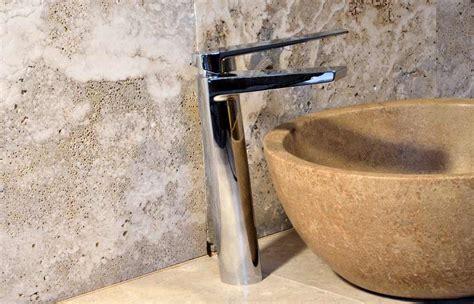 rubinetti lavandino bagno miscelatore moderno in acciaio inox modello rufina dal