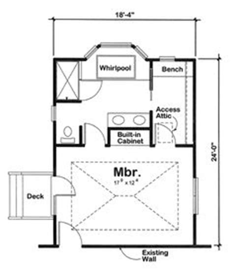 bathroom additions floor plans 1000 ideas about bedroom addition plans on pinterest