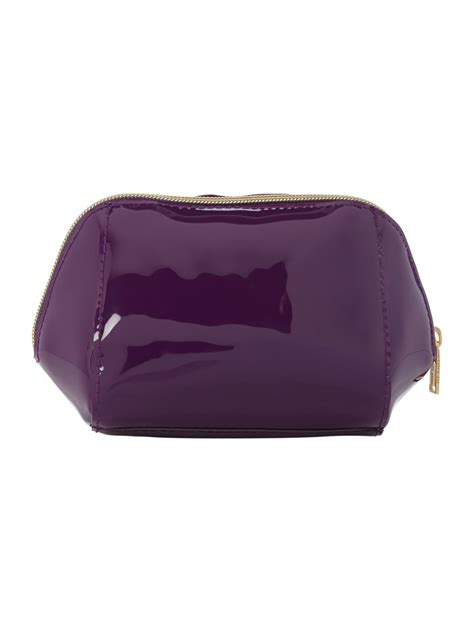 Bow Cosmetic Bag ted baker damika purple small bow cosmetic bag in purple