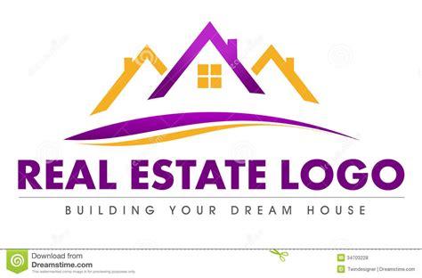 real estate house logo real estate logo royalty free stock photos image 34703228