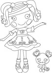 color sheet lalaloopsy coloring pages bestofcoloring