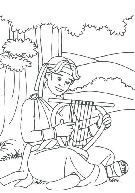 mephibosheth david bible coloring pages coloring pages