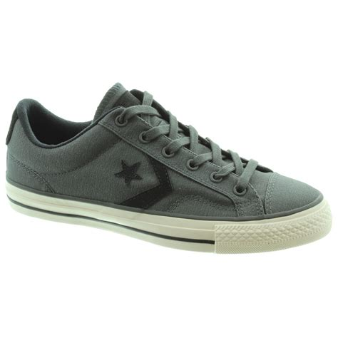 in shoes converse player ox lace shoes in grey in grey