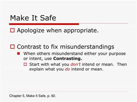 Ways To Resolve A Misunderstanding by Ppt Crucial Conversations Powerpoint Presentation Id