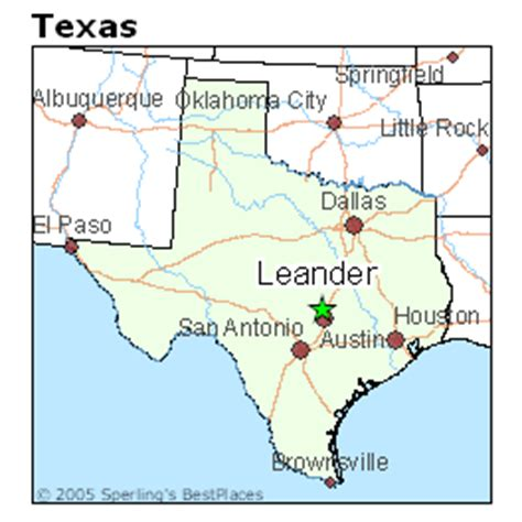 leander texas map best places to live in leander texas
