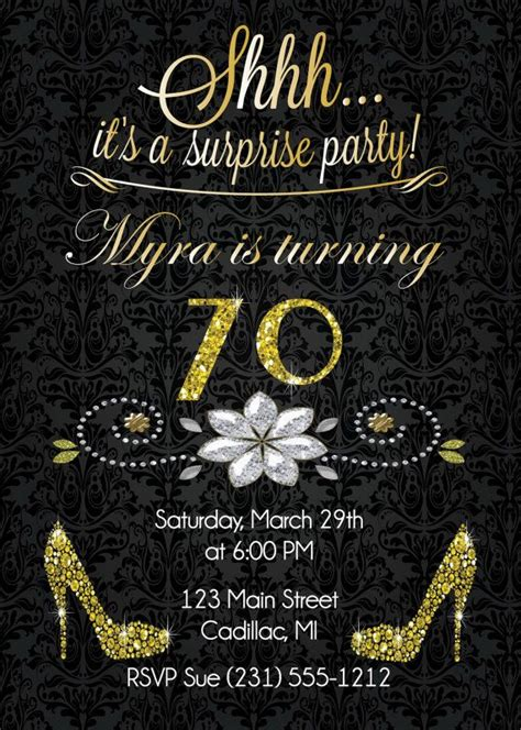 best 25 sparkle birthday parties ideas on pinterest 70th birthday party invitations life style by