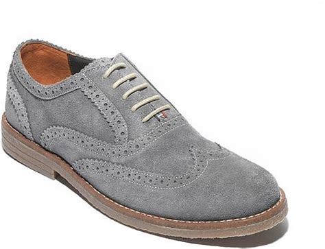 hilfiger oxford shoes hilfiger suede oxford shoe in blue for new lava