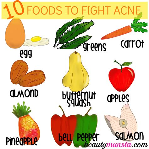 10 Foods To Get Your In A Spicy Mood by Top 10 Foods For Acne Prone Skin Beautymunsta