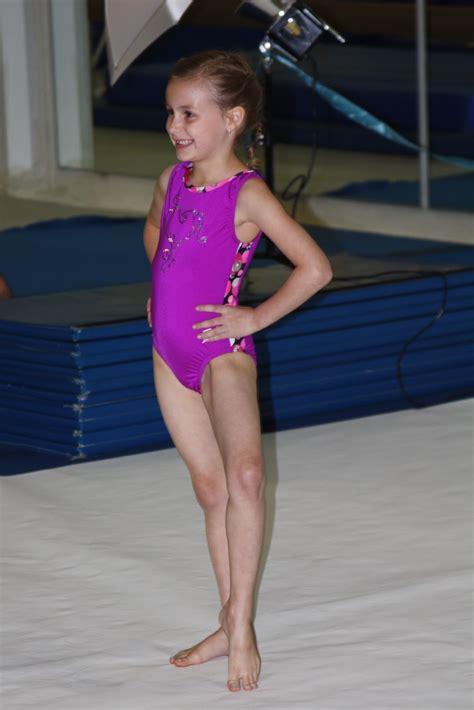 gymnastic little girl little hip chicks gymnastics show rehearsal
