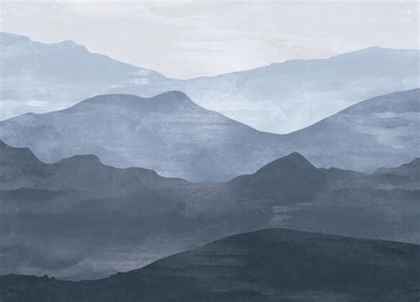 Mountain Mural, Mountain Wallpaper for Bedroom Walls   anewall