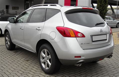 2008 Nissan Murano Ii Pictures Information And Specs