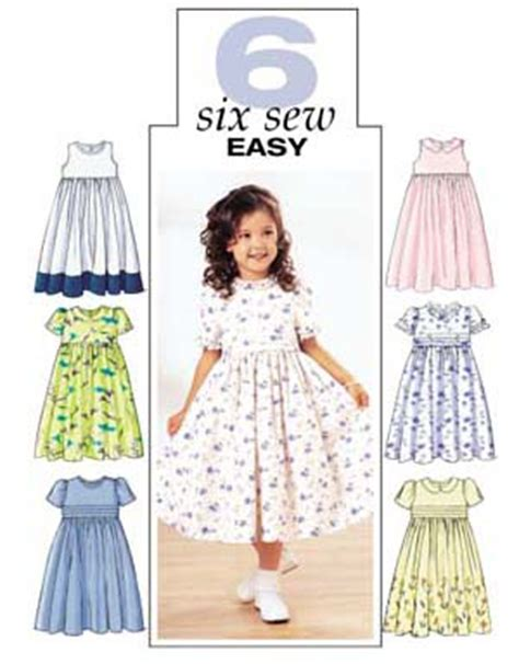 patterns sewing children s clothes butterick 3762 easy children s dress