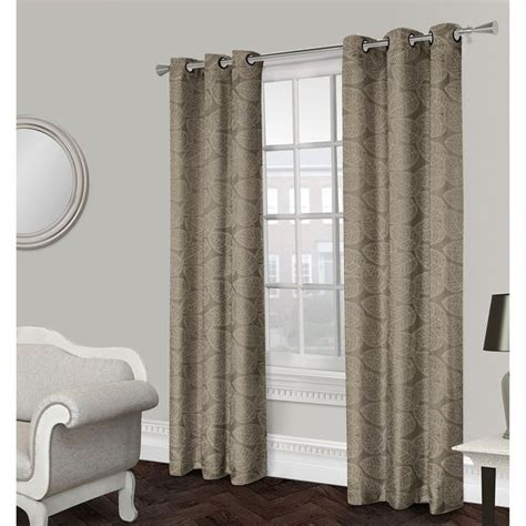 grommet curtain ideas malabar textured grommet curtain panel natural 84 in