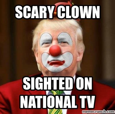 Creepy Clown Meme - scary clown