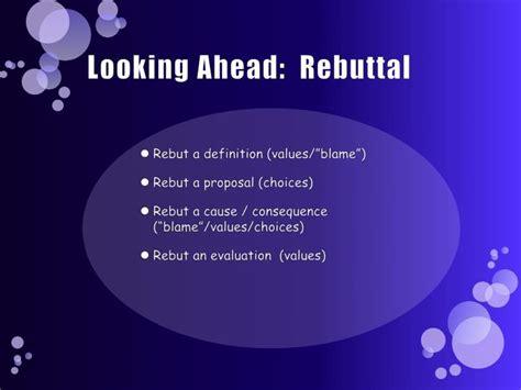 Ppt Looking Ahead Rebuttal Powerpoint Presentation Id Looking Powerpoint