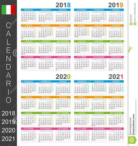 calendar   stock vector illustration  page