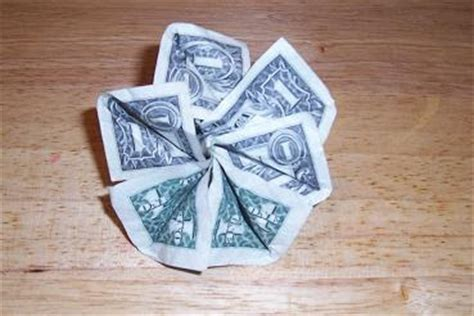 Easy Money Origami Flower - origami money flowers origami money flowers simple design