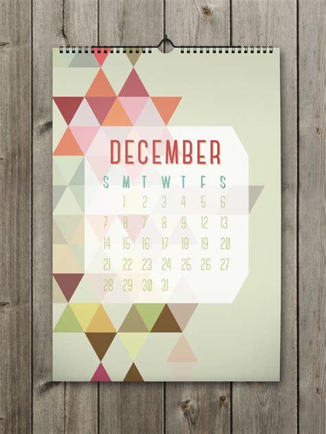 calendar design december inspiring calendar design for the new year shapes