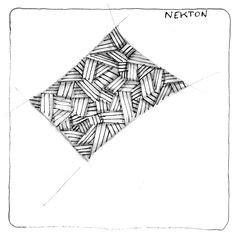 zentangle pattern xircus xircus nekton yincut 7 8 13 zentangle art by