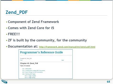 php zend tutorial pdf php on ibm i tutorial