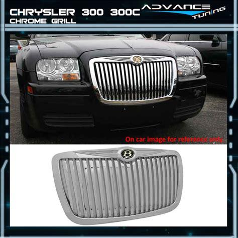 automotive repair manual 2005 chrysler 300c head up display 05 10 chrysler 300 300c srt8 srt 8 chrome grill grille new ebay