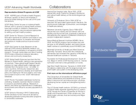 Ucsf Mba Program by Ucsf Global Research Sept 2012
