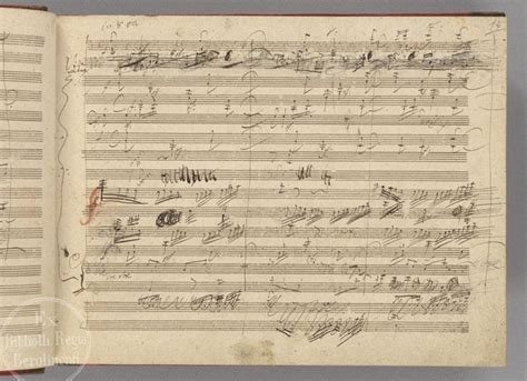 beethoven biography outline the daily beethoven 8 16 the 9th symphony autograph