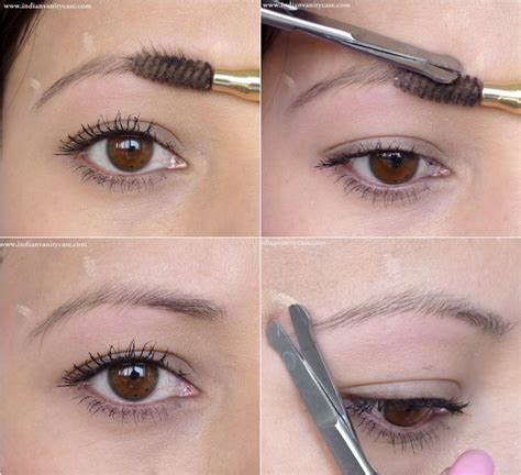 how to trim you eyebrows with clippers wiki with pictures anyone else have eyebrows that don t arch straight asian