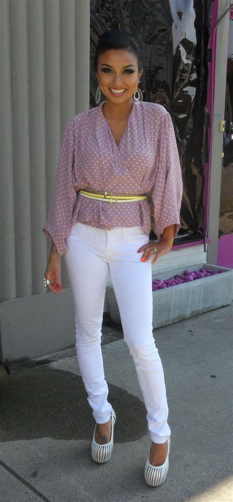 Jeannie Mai Closet by Gotta Get A Pair Of White Jeanie Mai