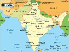 Map Of India And Surrounding Countries by Pics Photos Map Of India And Surrounding Countries