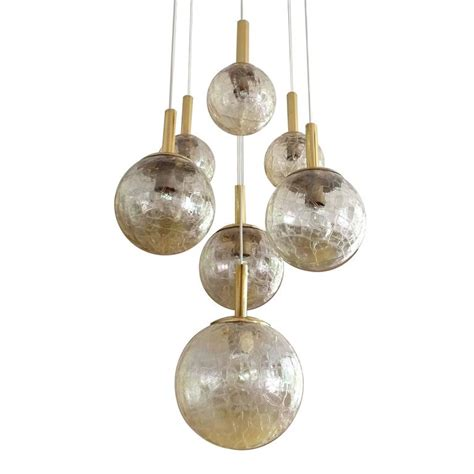 Large Globe Chandelier Large Doria Tier Glass Globes Chandelier Modernist