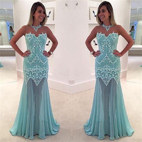 Renda Top By Princess prom dresses light blue prom dress new prom gown prom