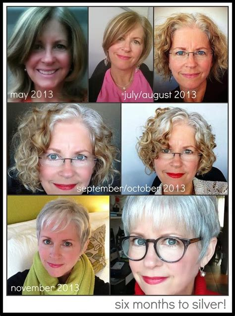 how to transition to gray hair from dyed grey is ok grey transitions