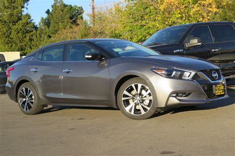 2018 nissan maxima new 2018 nissan maxima sv 4dr car in roseville n45170