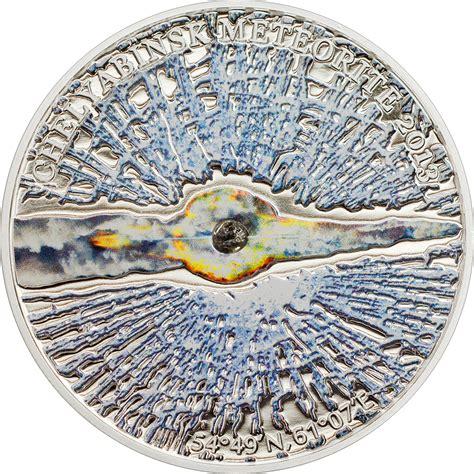 Calendar 61 Cook County 5 Dollars Elizabeth Ii Chelyabinsk Meteorite Cook