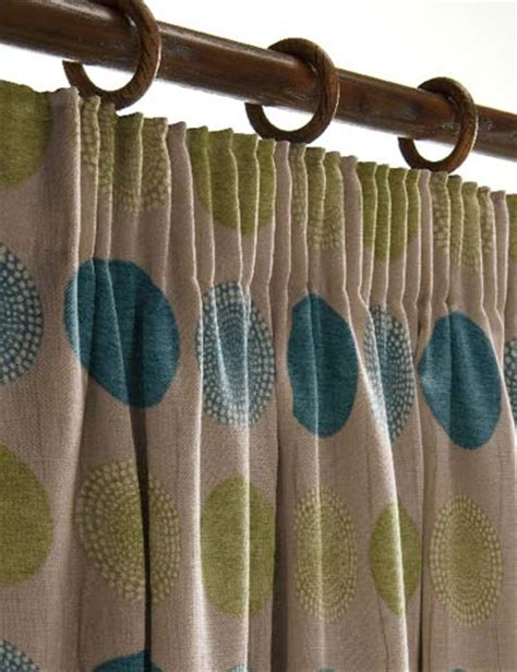 Curtain Details For Arnez Teal Lime Curtain Express