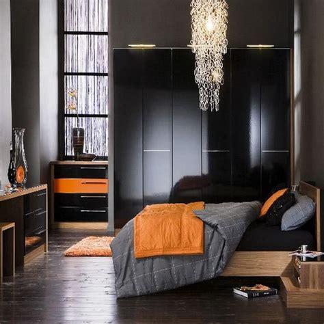 orange and gray bedroom 10 charming orange interior design ideas https