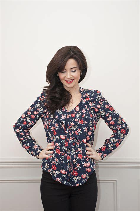 juliet blouse lace henley blouse