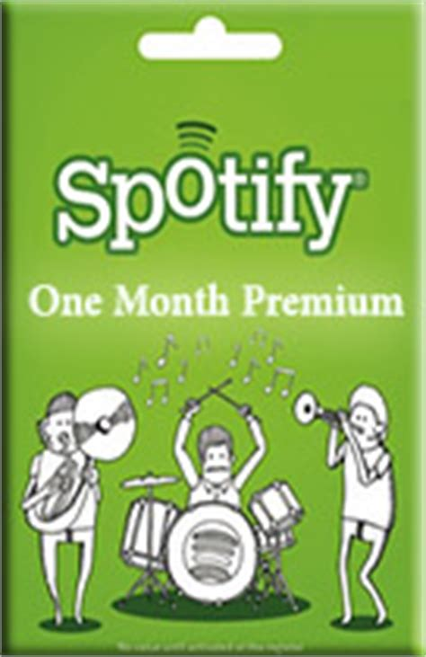 Where To Buy Spotify Gift Card - buy spotify gift card 1 month premium pay as you go