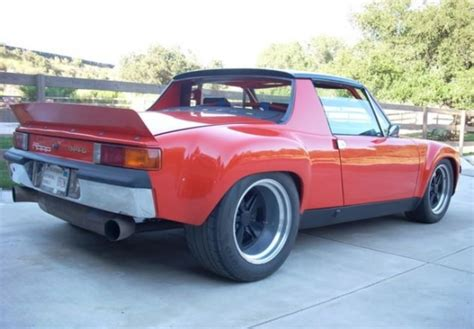 porsche 914 modified modified genuine 1970 porsche 914 6 bring a trailer