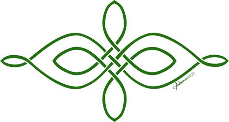 Knot Designs - simple horizontal celtic knot by adoomer on deviantart