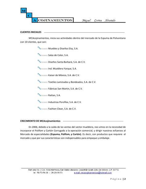 Modelo De Curriculum Vitae Persona Juridica Curriculo Empresarial