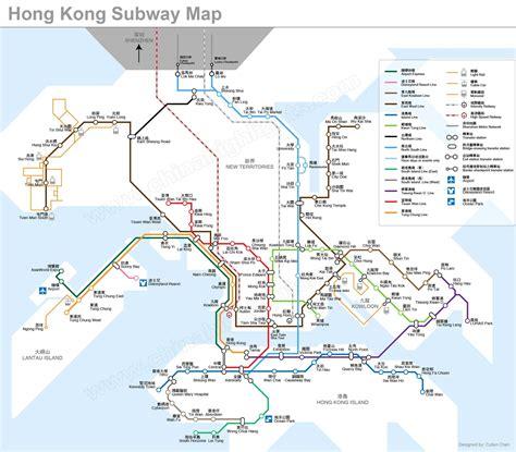 hong kong map hong kong s subway system the best in the world