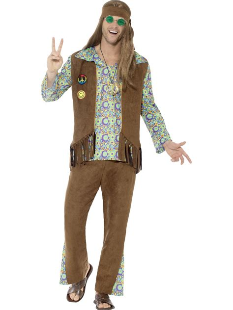 60 age men dress mens 60 s hippie costume 43126 fancy dress ball