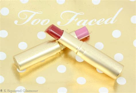 faced color drenched lip faced la cr 232 me color drenched lip creams review