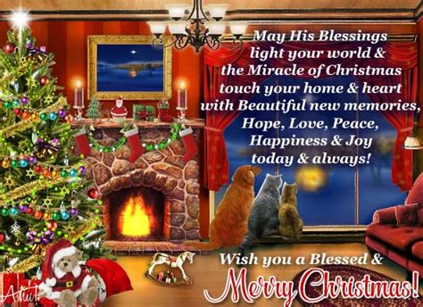 miracle  christmas  merry christmas wishes ecards greeting cards
