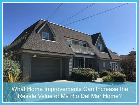 home improvements that can increase the resale value of my