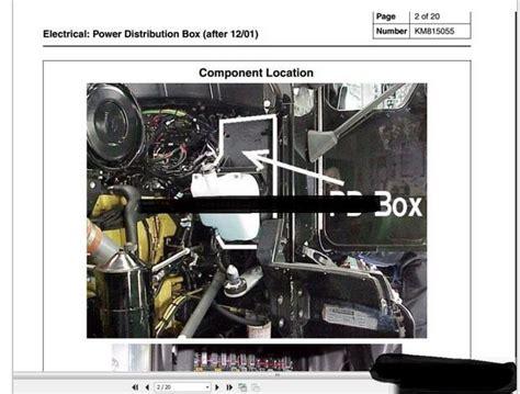 kenworth truck service manual owner manual diagram all